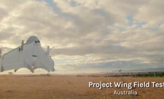 Google testa drones para entregar compras pela internet
