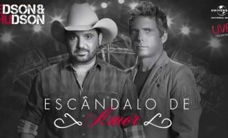 Um Escândalo de Amor  Irmãos abrem a pré-venda do vigésimo álbum da carreira