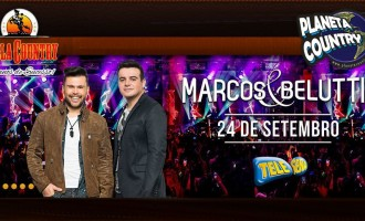 Marcos e Belutti escolhem a Villa Country para lançar novo álbum