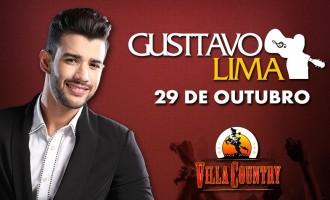 Villa Country se transforma no Buteco do Gusttavo no próximo dia 29