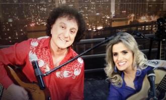 """Adriana Farias é convidada do programa """"Silvio Brito em Família"""" deste sábado (28)"""