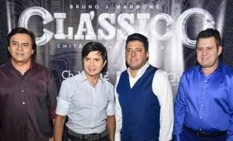 Chitãozinho & Xororó e Bruno & Marrone apresentam turnê Clássico em Campo Grande-MS, no dia 18