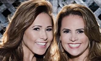 """Leyde & Laura são convidadas do """"Arena Barretão"""" desta segunda (15)"""