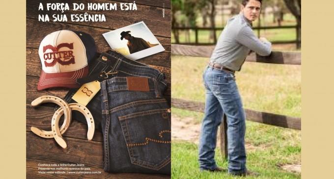 Calças masculinas Cutter Jeans, uma nova coleção