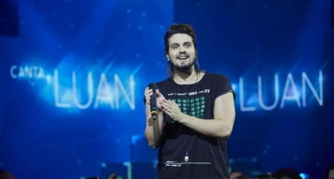 """Luan Santana recebe Ivete Sangalo e Caetano Veloso no """"Canta, Luan"""" de quarta"""