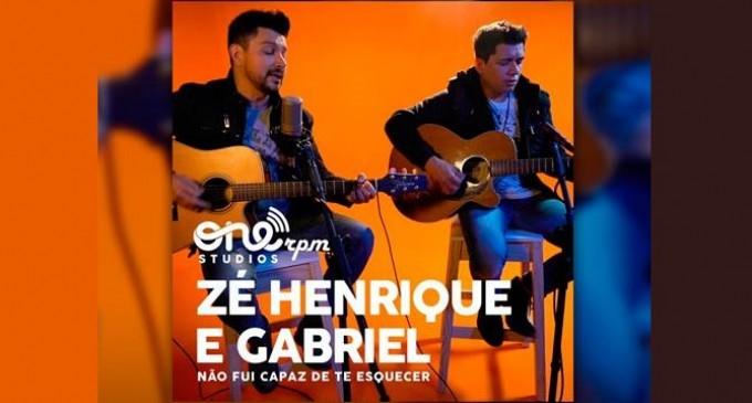 Zé Henrique e Gabriel participam do ONErpm Studio Sessions
