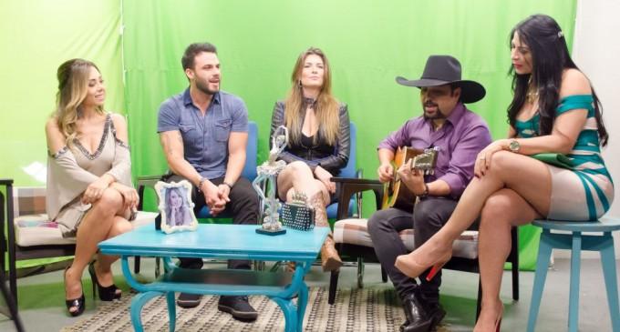 Sucesso absoluto:  Deia Cypri recebe famosos na estreia de seu programa na AllTV