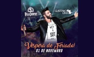 Gusttavo Lima agita Villa Country em noite de pré-feriado
