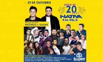 Nativa FM faz grande festa no Villa Country