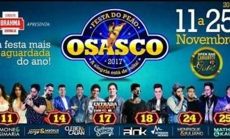 Festa do Peão de Osasco de 2017 traz ao palco grandes nomes do sertanejo