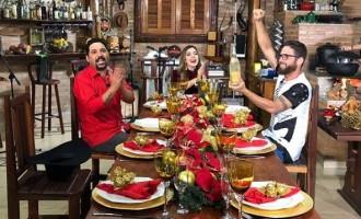 Deia Cypri grava especial de Natal com Edson e Hudson