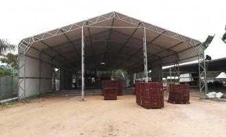 Embu Summer Fest tem mais de 3.200m² de área coberta para conforto do público