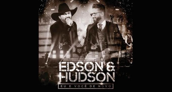 """Gravado ao vivo Goiânia, terra natal da dupla, Edson e Hudson lançam hoje o CD e DVD """"Eu e Você de Novo"""""""