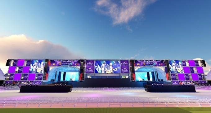Camarotes maiores, palcos com várias inovações e tecnologia estão entre as novidades na estrutura do Ribeirão Country Fest
