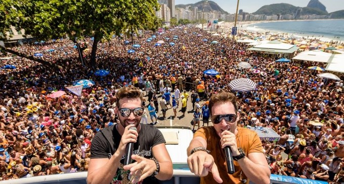 Pré-carnaval no Rio de Janeiro tem João Lucas & Matheus com bloco Chora Me Liga