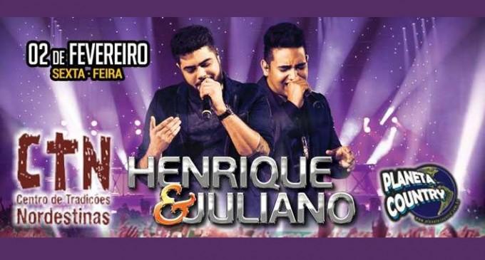 Show Henrique e Juliano  no CTN  – SP 02 de Fevereiro 2018