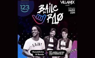 João Lucas e Marcelo iniciam sua agenda  de shows 2018  em evento com Ronaldinho Gaúcho Baile do R10