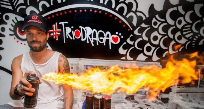 Trio Dragão leva folia e arte ao Carnaval de Salvador