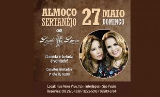 Domingo sertanejo: Leyde & Laura trazem turnê 2018 para a capital paulista no dia 27 de maio
