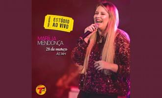 Marília Mendonça é a próxima atração do Estúdio ao Vivo Transamérica