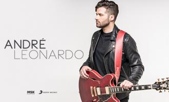 Cantor André Leonardo grava novo projeto em Goiânia