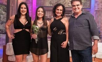 Faa Morena recebe a dupla Day e Lara e Dudu França no Ritmo Brasil deste sábado