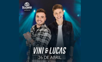 Vini e Lucas lançam CD e DVD no Villa Country