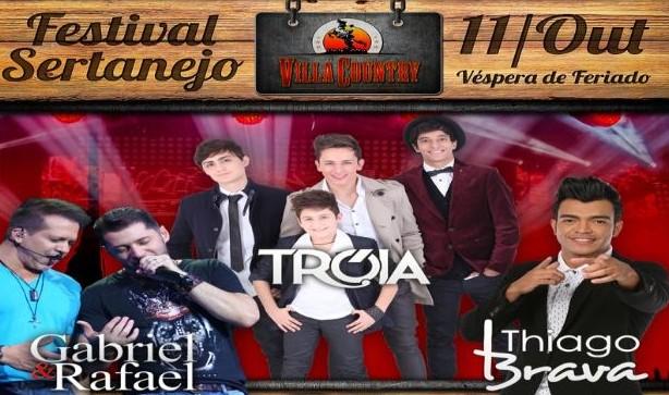 Villa Country realiza 5º Festival Sertanejo com Thiago Brava, Grupo Tróia e Gabriel & Rafael 41