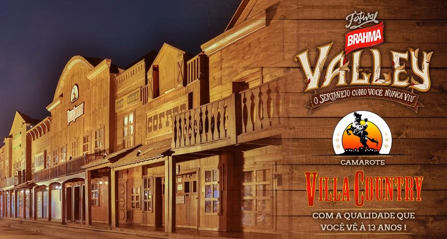 Villa Country terá camarote na 1ª edição do Festival Brahma Valley 41