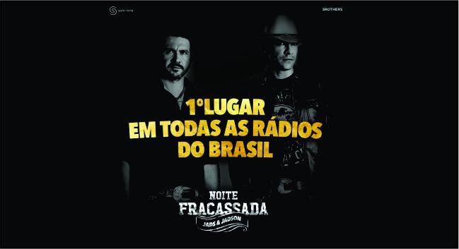 """Música """"Noite Fracassada"""" de Jads e Jadson estreia muito bem nas rádios 41"""