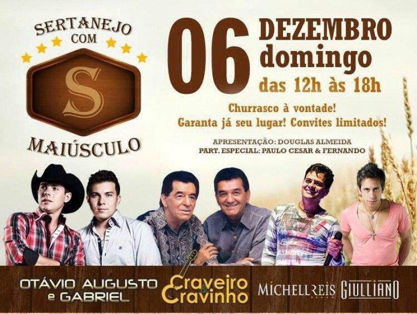 Festival de viola, em Boituva (SP), terá Craveiro & Cravinho, Otávio Augusto & Gabriel e convidados 41