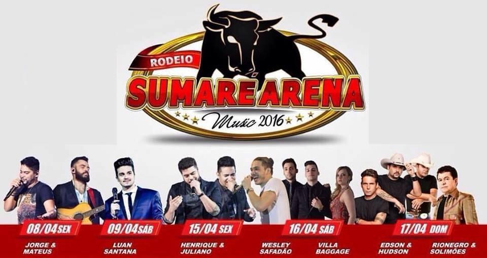 Começam as vendas de CAMAROTE para o Sumaré Arena Music 2016! 41