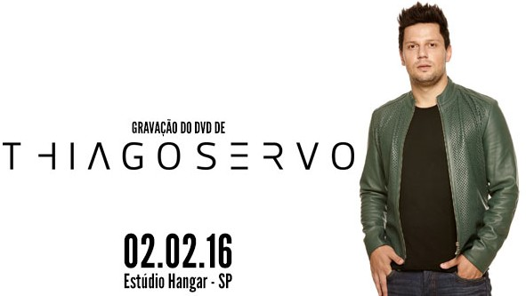 Com participações de João Neto e Frederico e Hugo Pena, o cantor Thiago Servo grava seu primeiro DVD da carreira solo em São Paulo 41