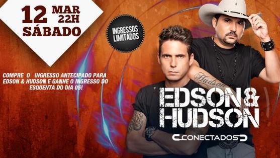 Dia 12 de Março  Show Conectados de Edson e Hudson no Terra Valente 41