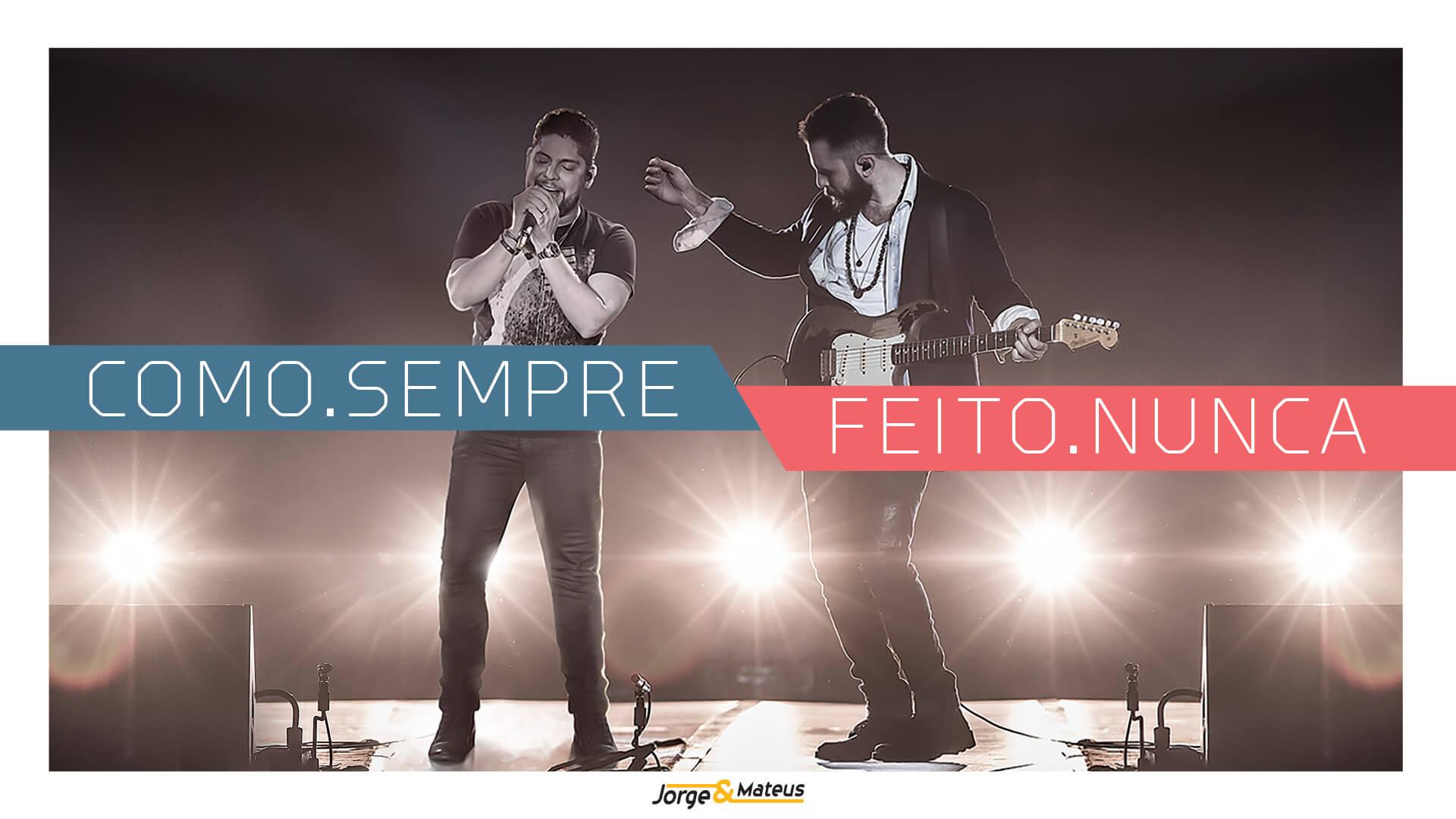 """Jorge & Mateus fazem transmissão do novo DVD, """"Como.Sempre.Feito.Nunca"""" , ao vivo pelo YouTube 41"""