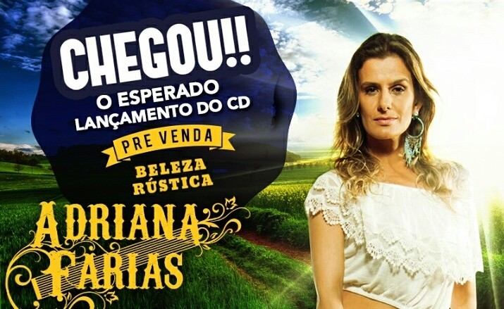 """""""Beleza Rústica"""", novo CD de Adriana Farias, entra em pré-venda nas maiores livrarias do país 41"""