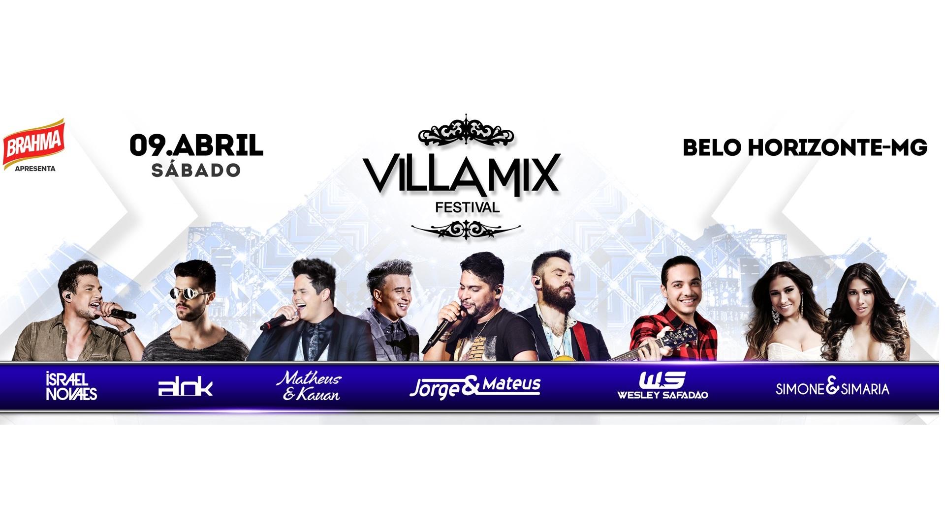 Vem aí 4ª edição do Villa Mix Festival Belo Horizonte (MG) 41