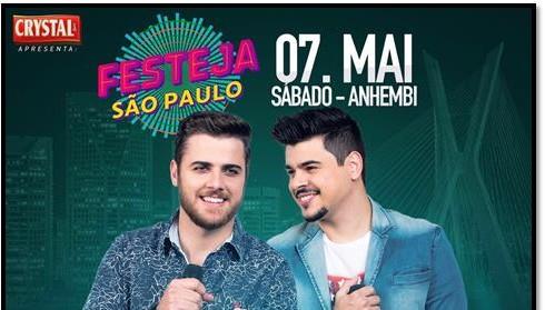 Zé Neto & Cristiano se apresenta no Festeja São Paulo 41