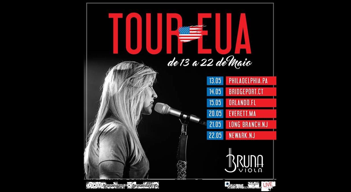 Bruna Viola embarca para EUA para primeira turnê no exterior 41