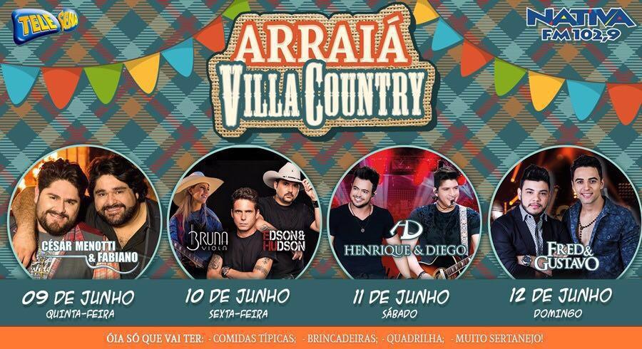 Arraiá Villa Country acontece na segunda semana de junho 41