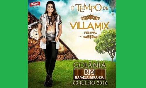 Rafaela Miranda se apresenta pela primeira no Villa Mix Festival Goiânia e faz show de abertura 41