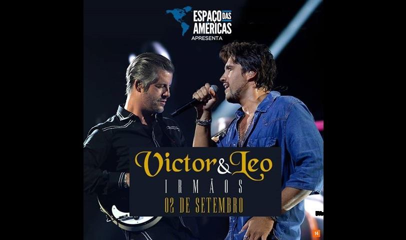 """Espaço das Américas recebe nova turnê """"Irmãos"""" de Victor e Leo 41"""