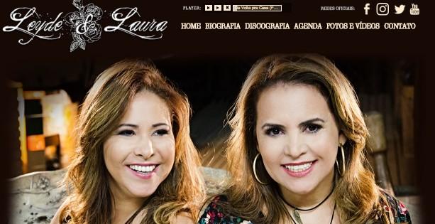 Leyde & Laura lançam site em comemoração aos 25 anos de estrada 41