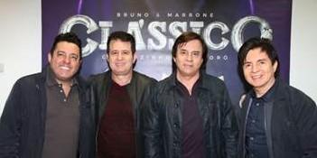 """As duplas Chitãozinho & Xororó e Bruno & Marrone assinam contrato com a Universal Music para lançar em outubro o DVD """"CLÁSSICO"""" 41"""