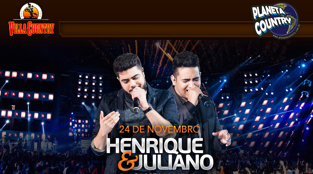 Henrique & Juliano chegam com tudo no  Villa Country 41