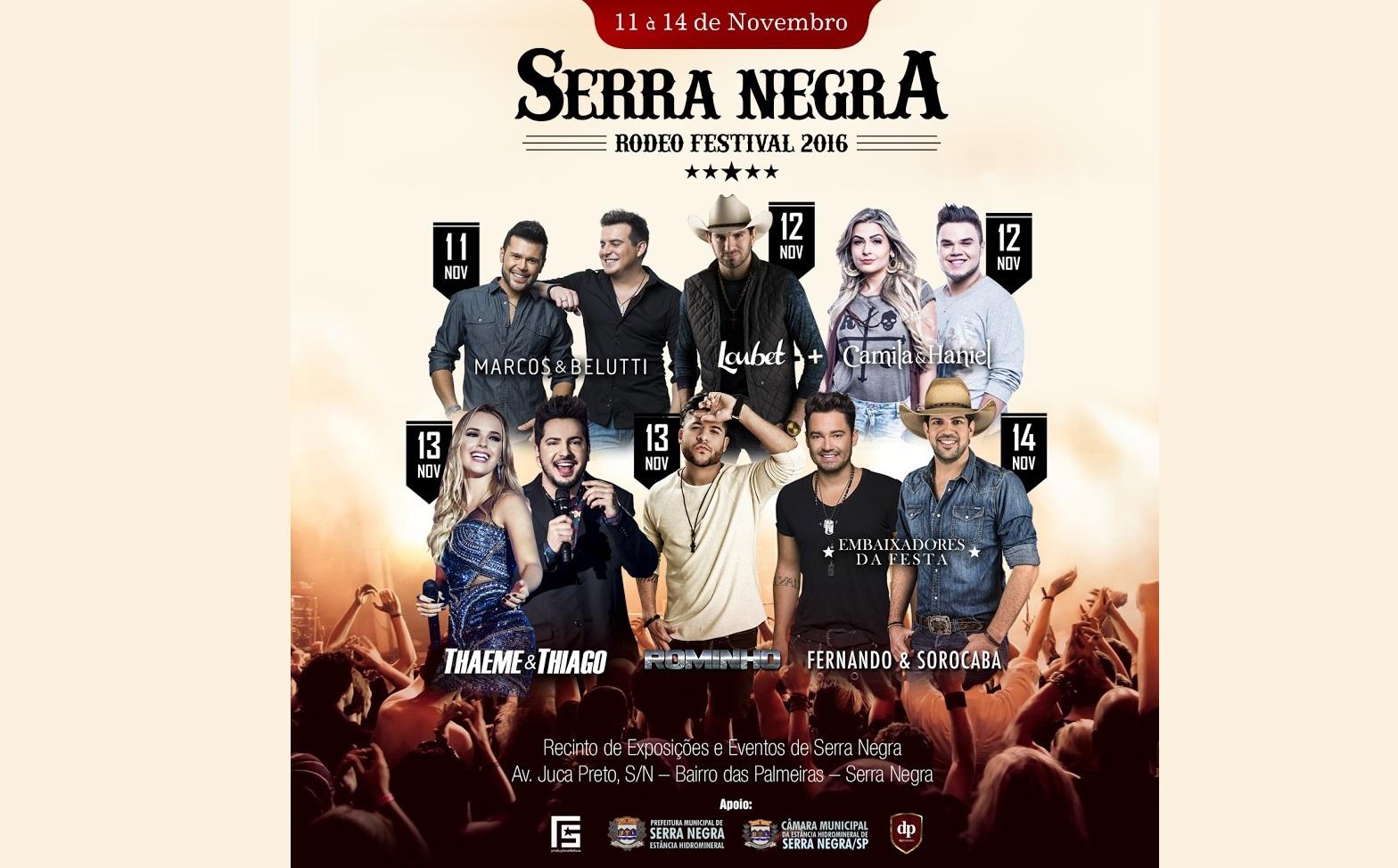 Marcos & Belutti abrem a 28ª edição do Serra Negra Rodeo Festival nesta sexta-feira (11) 41