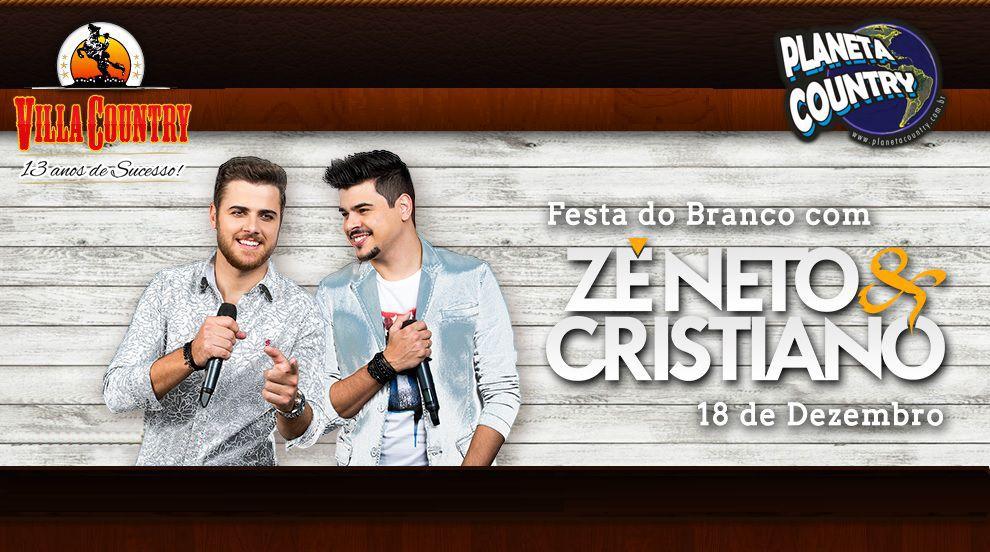 Dupla Zé Neto e Cristiano comanda a Festa do Branco no Villa Country dia 18 de dezembro 41