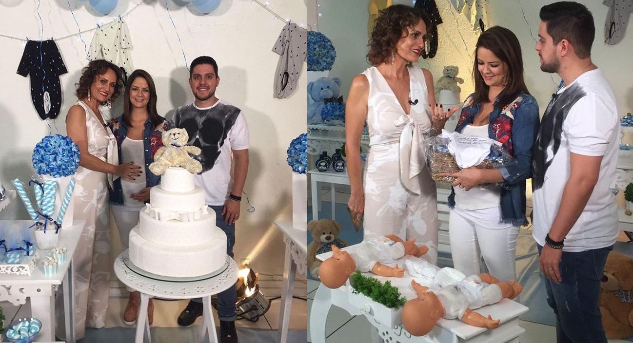 Faa Morena faz surpresa para Maria Cecília e Rodolfo no Ritmo Brasil 41