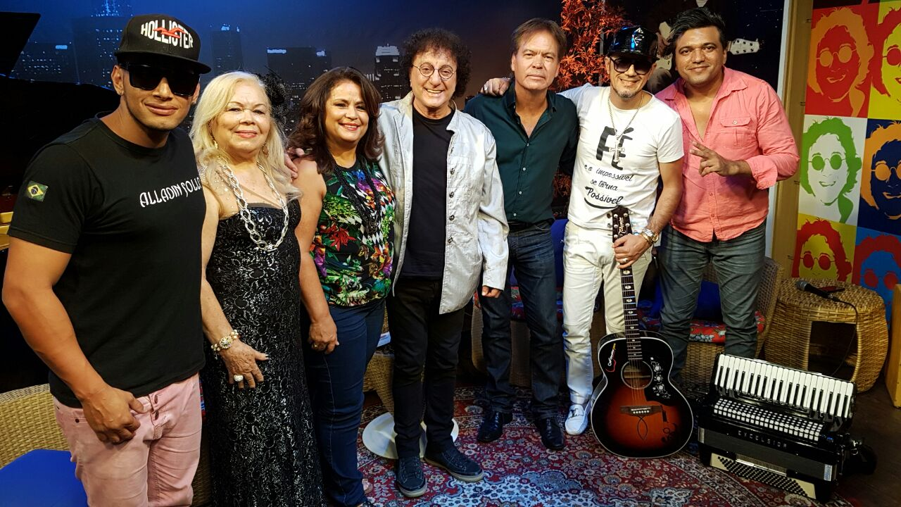 "Alladin Sollo é convidado do programa ""Silvio Brito em Família"" deste sábado (25) 41"