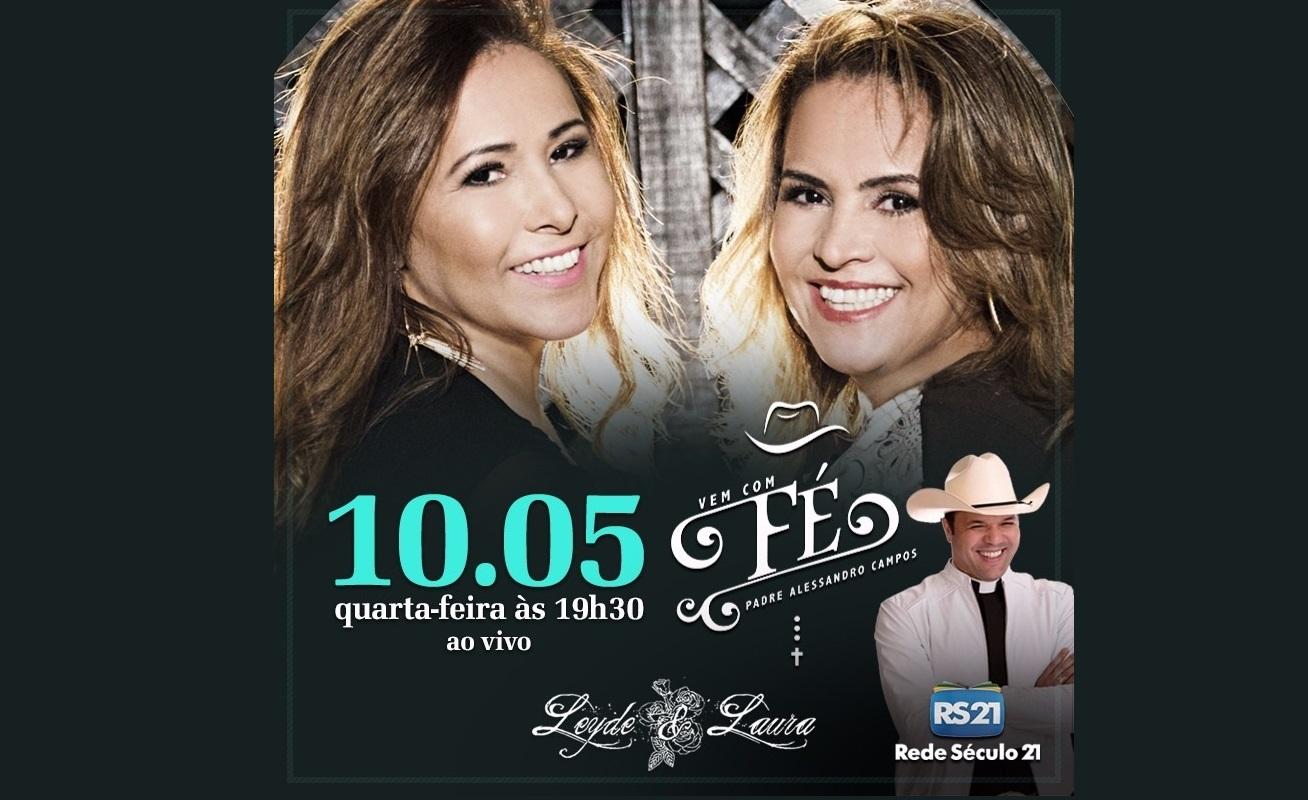 """Leyde & Laura são convidadas do Padre Alessandro Campos no """"Vem com Fé"""" desta quarta (10) 41"""